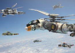 condors in flight - Last Ark